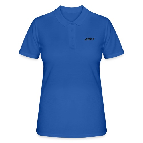 HexaDesignBlackLogo - Women's Polo Shirt