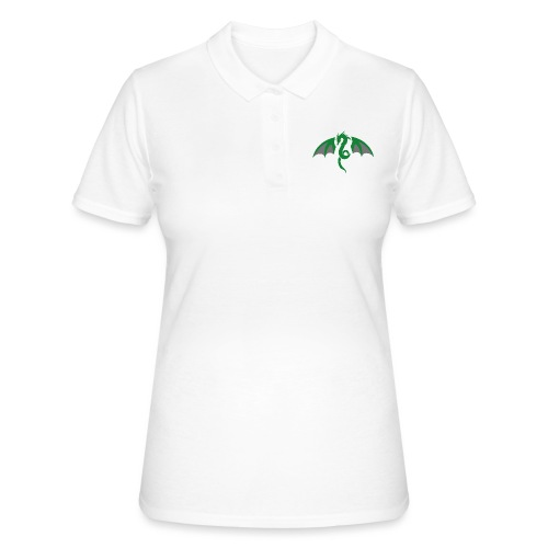 Red eyed green dragon - Vrouwen poloshirt