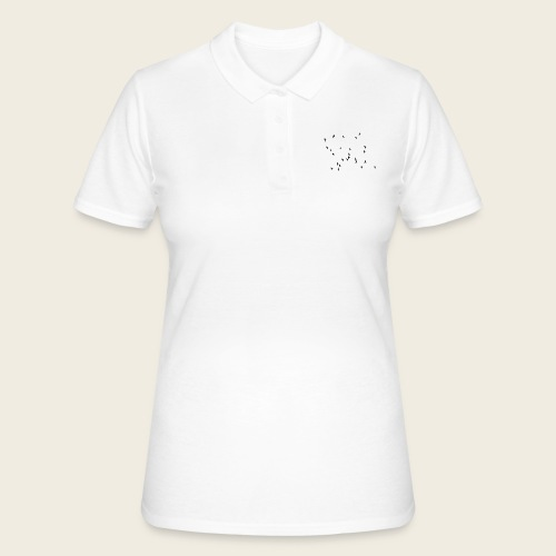 Flying birds - Women's Polo Shirt
