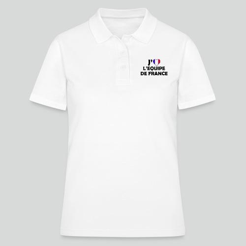 J'aime L'équipe De France (N) - Polo Femme