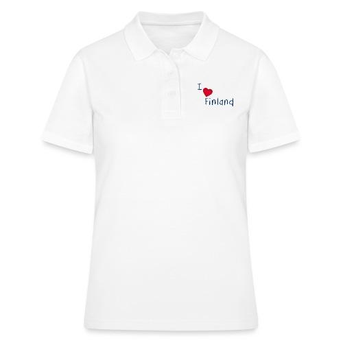 I Love Finland - Women's Polo Shirt