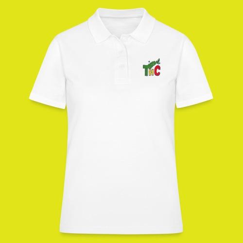 THC logo one - Women's Polo Shirt