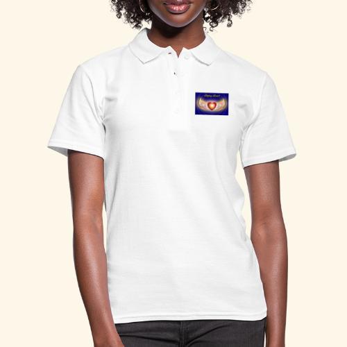 Flying Heart - Frauen Polo Shirt