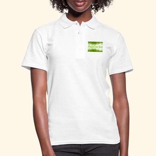 einfach nur gras2 - Frauen Polo Shirt