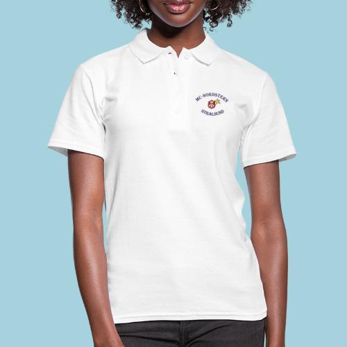 MC Nordstern Schrift gebogen - Frauen Polo Shirt