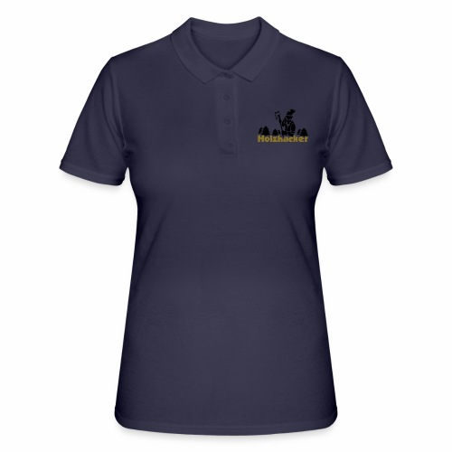 Holzhacker - Frauen Polo Shirt