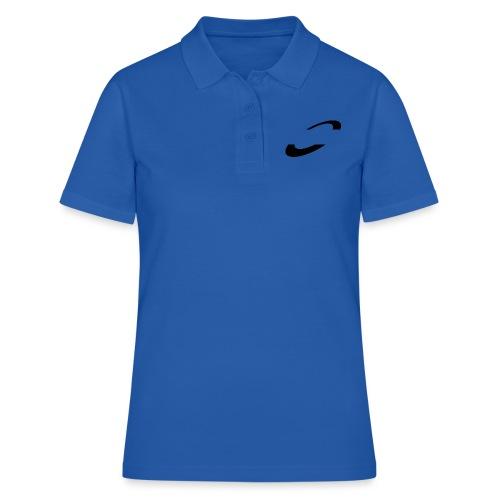 Planet Cycling Icon Black - Women's Polo Shirt
