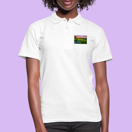 Bagliori in montagna - Women's Polo Shirt