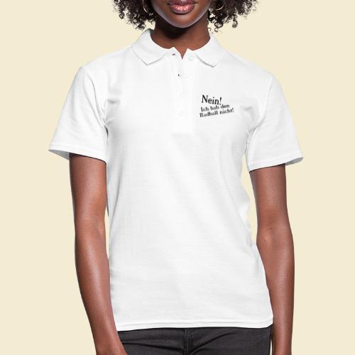 Radball   Nein - Frauen Polo Shirt