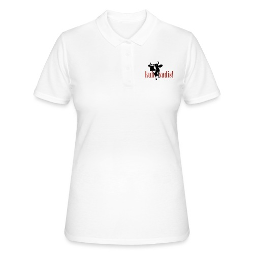 kuh vadis! - Frauen Polo Shirt