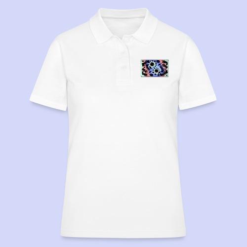 Pastel Rainbow Doodle - Female shirt - Women's Polo Shirt