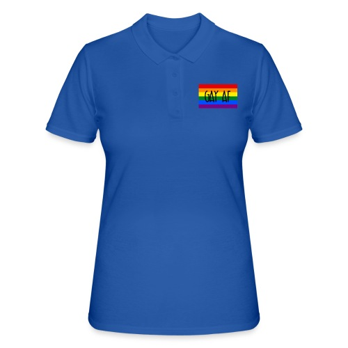 gay af - Frauen Polo Shirt
