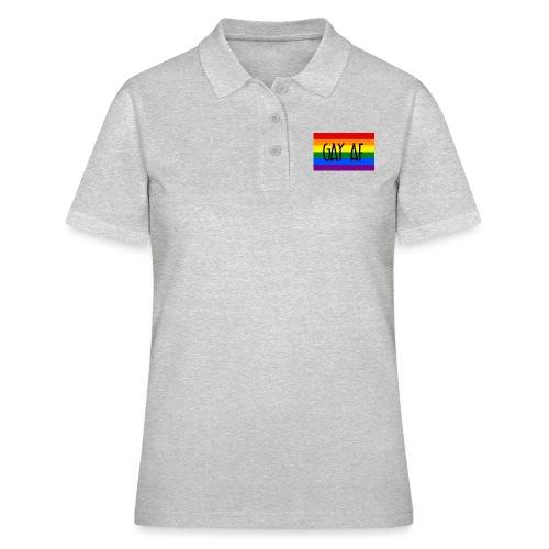 gay af - Frauen Polo Shirt
