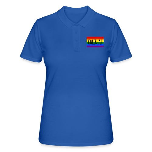 queer af - Frauen Polo Shirt
