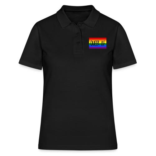 queer af - Frauen Polo Shirt