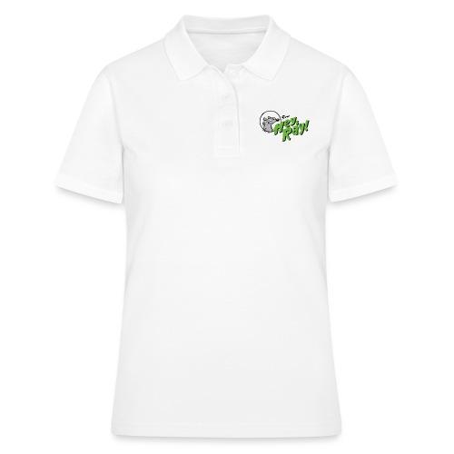 Hey Ray Logo green - Frauen Polo Shirt