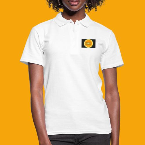 Orange_Logo_Black - Women's Polo Shirt