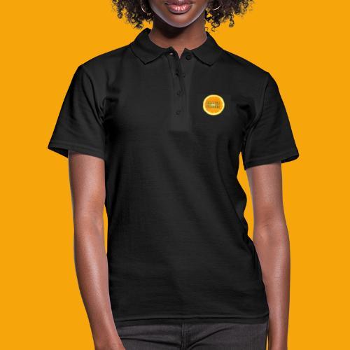 Orange_Logo_Black - Women's Polo Shirt