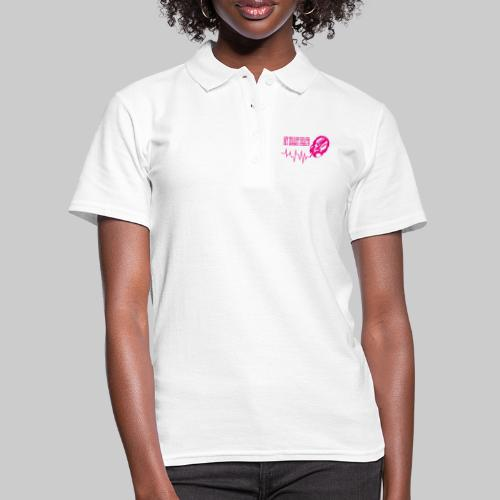 musicbeat_pink - Women's Polo Shirt