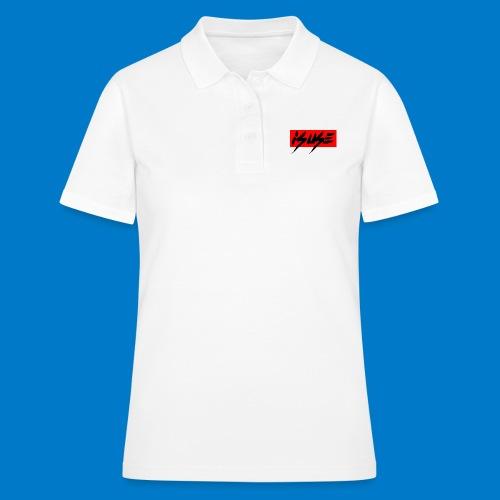 box logo red isuse - Camiseta polo mujer