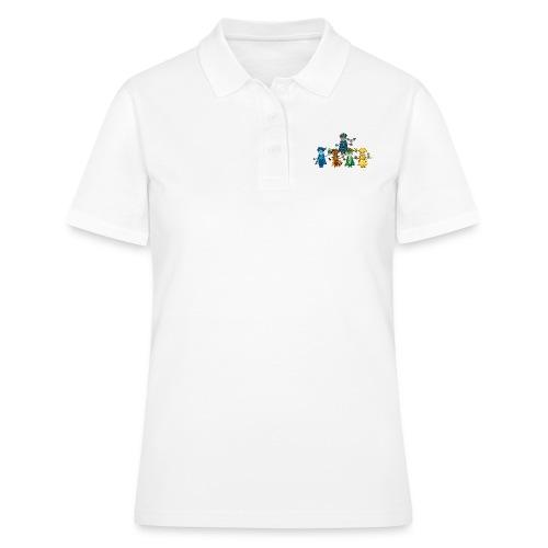 Die Fünf Gooders mit Freunden - Frauen Polo Shirt