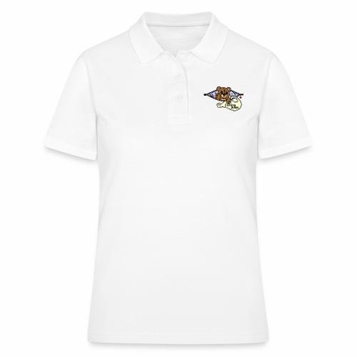 Bärchen Nähmaschine Coming Soon - Frauen Polo Shirt