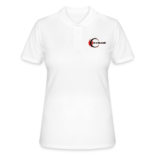 OOTW BLACK AND RED - Women's Polo Shirt
