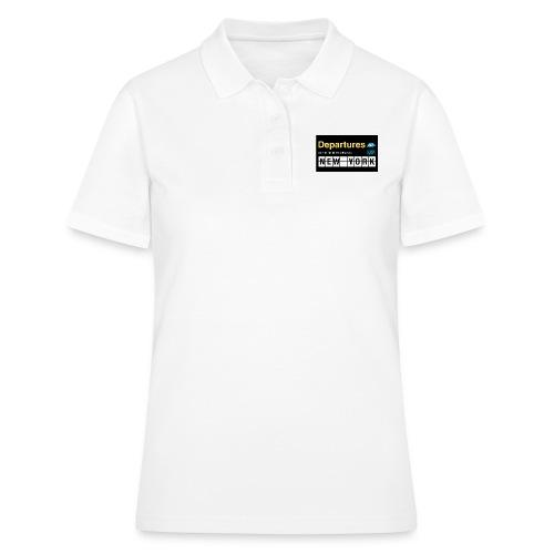 Departures Defnobarre 1 png - Women's Polo Shirt
