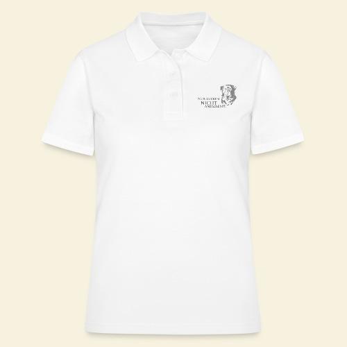 Nur gucken, nicht anfassen - Frauen Polo Shirt