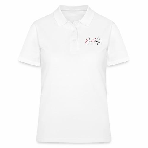 Logga röd och svart - Women's Polo Shirt