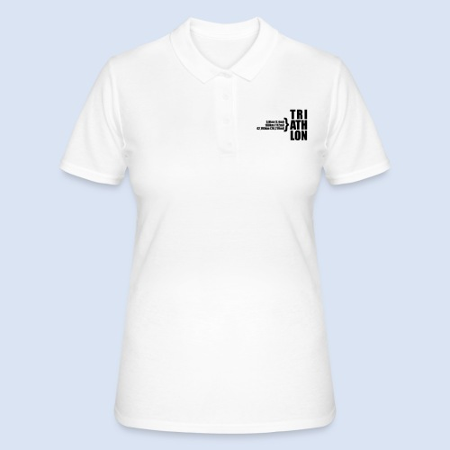 Triathlon Sport Distance - Frauen Polo Shirt