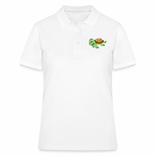 Cute Turtle - Women's Polo Shirt