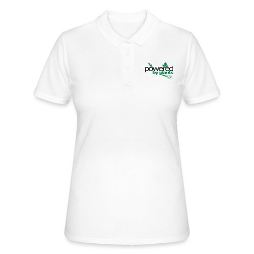 POWERED BY PLANTS - Frauen Polo Shirt
