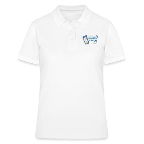 LEBE - bevor Dir die Zeit davon rennt - LEBE! - Frauen Polo Shirt