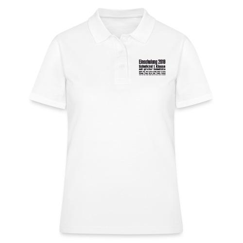 Einschulung-2019 - Frauen Polo Shirt