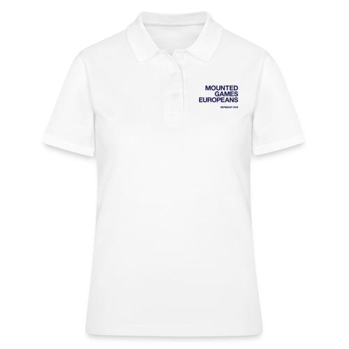 Mounted Games Europeans Hoodie - Frauen Polo Shirt