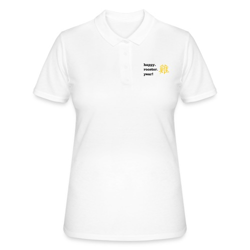 happy rooster year - Women's Polo Shirt