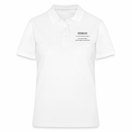 Referendariat zur ersten Stunde - Frauen Polo Shirt