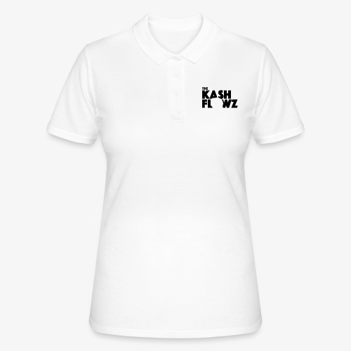 The Kash Flowz Official Black - Women's Polo Shirt
