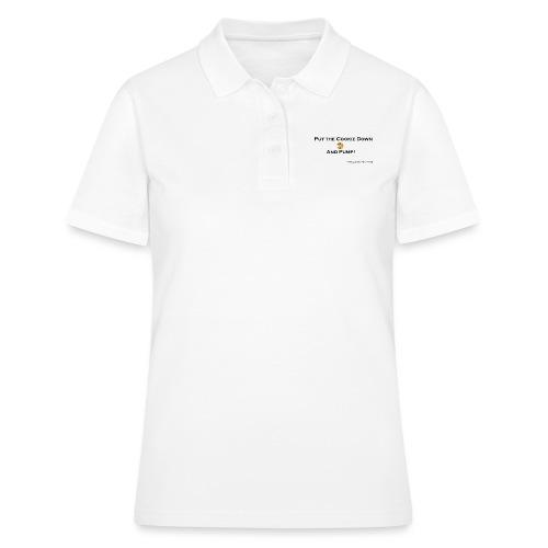 cookie black png - Frauen Polo Shirt