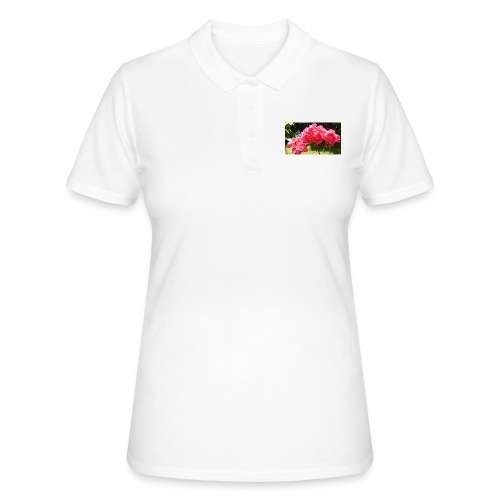 floral - Women's Polo Shirt