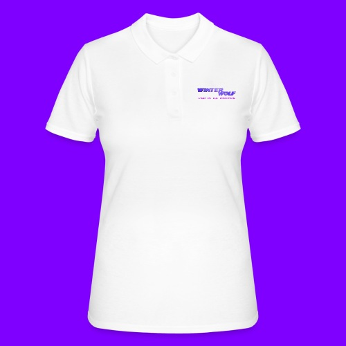 WINTERWOLF LOGO Part of The Wolfpack T-shirt - Women's Polo Shirt