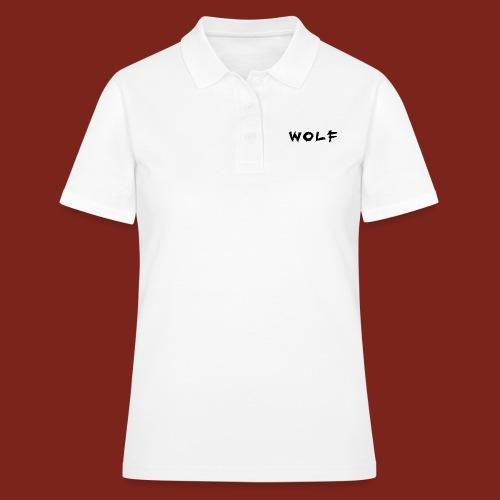 Wolf Font png - Vrouwen poloshirt