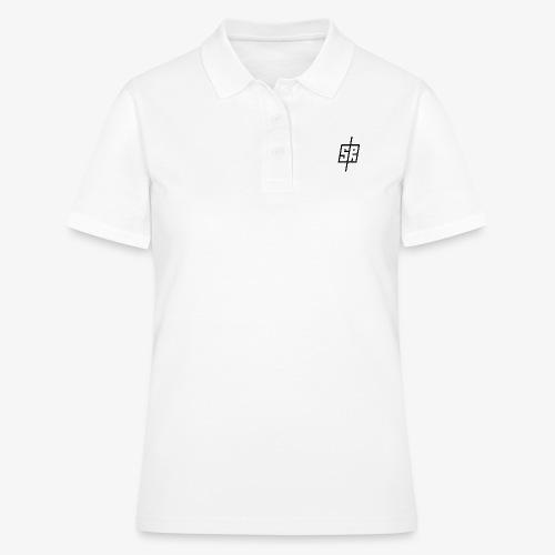 Black Logo (No Background) - Women's Polo Shirt