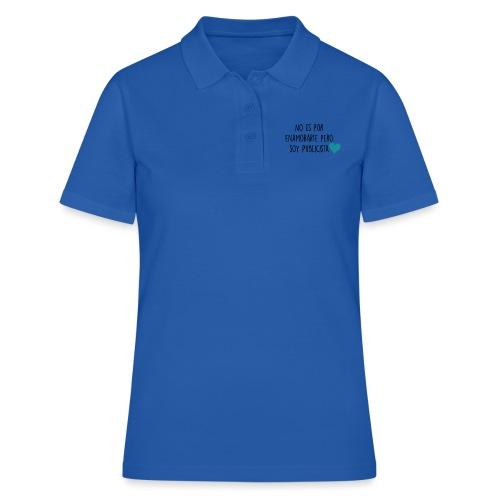 No es por enamorarte pero soy publicista - Camiseta polo mujer