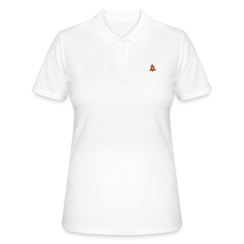 Fire color fuoco - Women's Polo Shirt