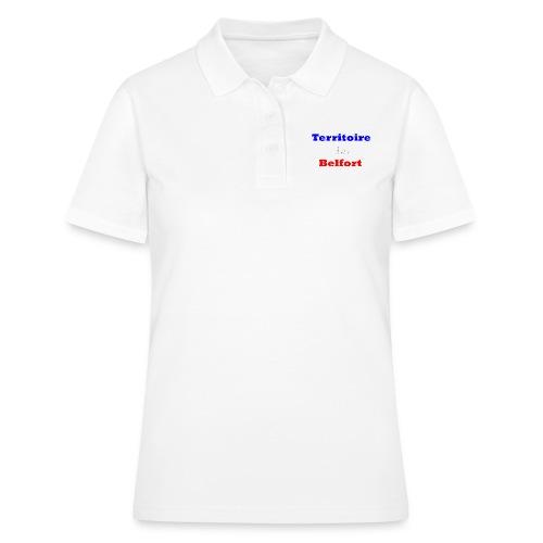 Territoire Belfort Tricolore - Women's Polo Shirt
