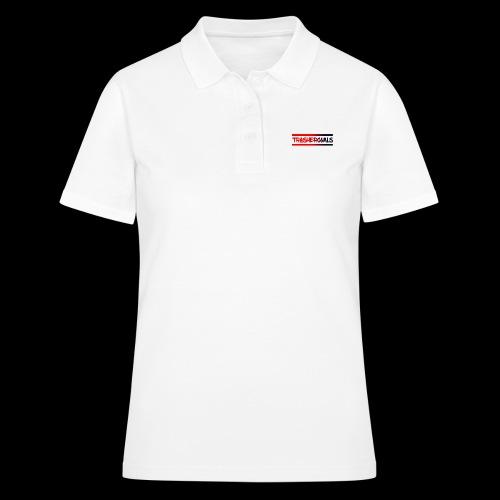 trashergoals lgo red-black - Women's Polo Shirt