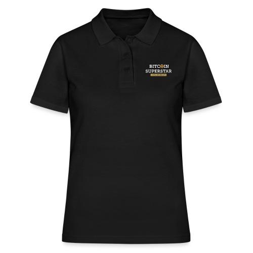 bitcoin superstar - Women's Polo Shirt