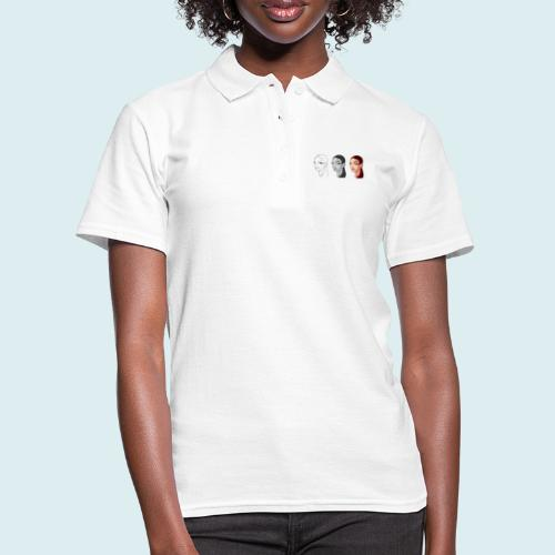 volto donna rossa - Women's Polo Shirt